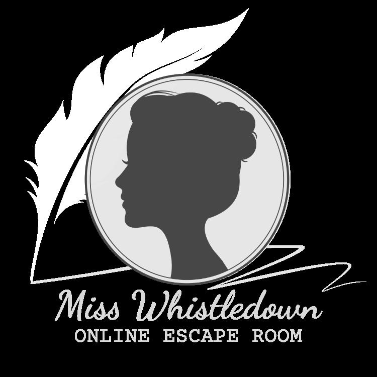 Miss Whistledown Online Escape Room